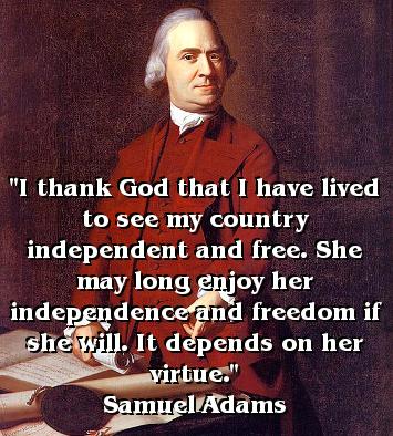Samuel Adams' Quote