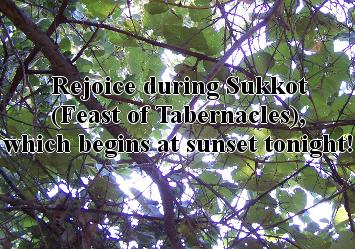 Sukkot (Feast of Tabernacles)