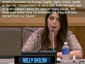 Israel's Counselor on Human Rights Nelly Shiloh